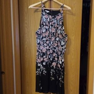 Maurices floral right above knee length dress 2x